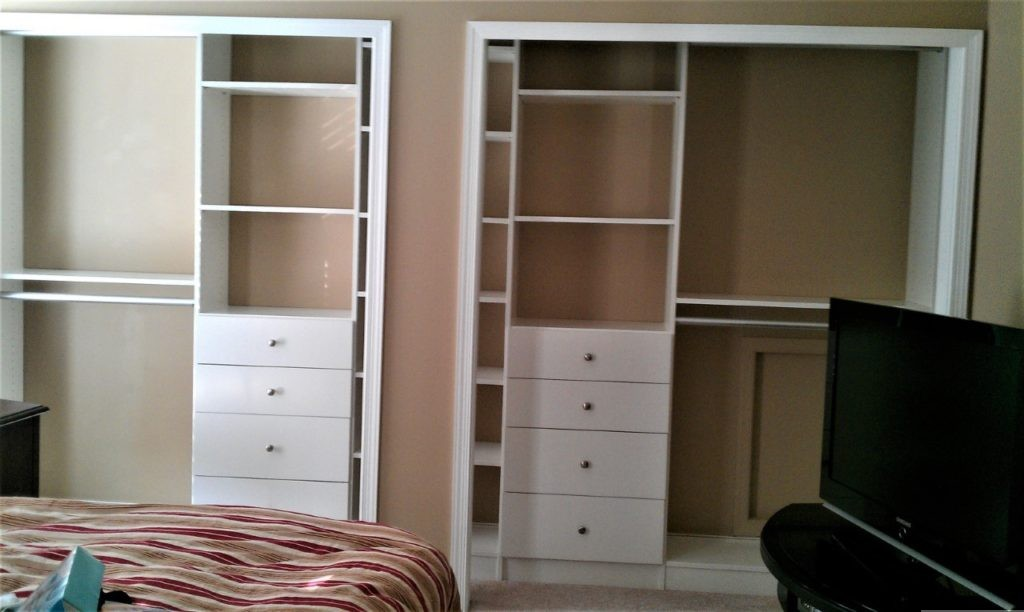 his and hers closet storage just closets