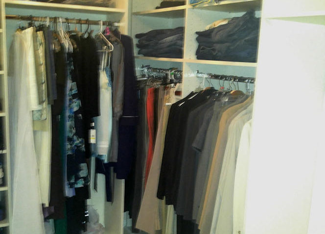 Crown Molding In Custom Closets