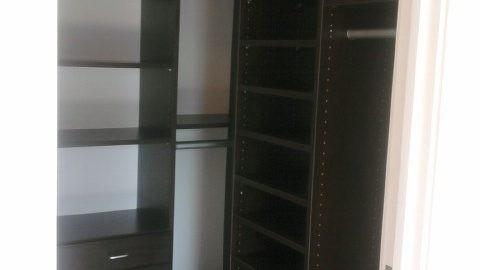 Custom Closet system installed in Virginia