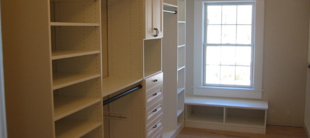Closet System - Left Side