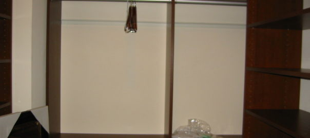 Closet rods for hanging your clothes