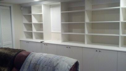 Custom closet built-ins