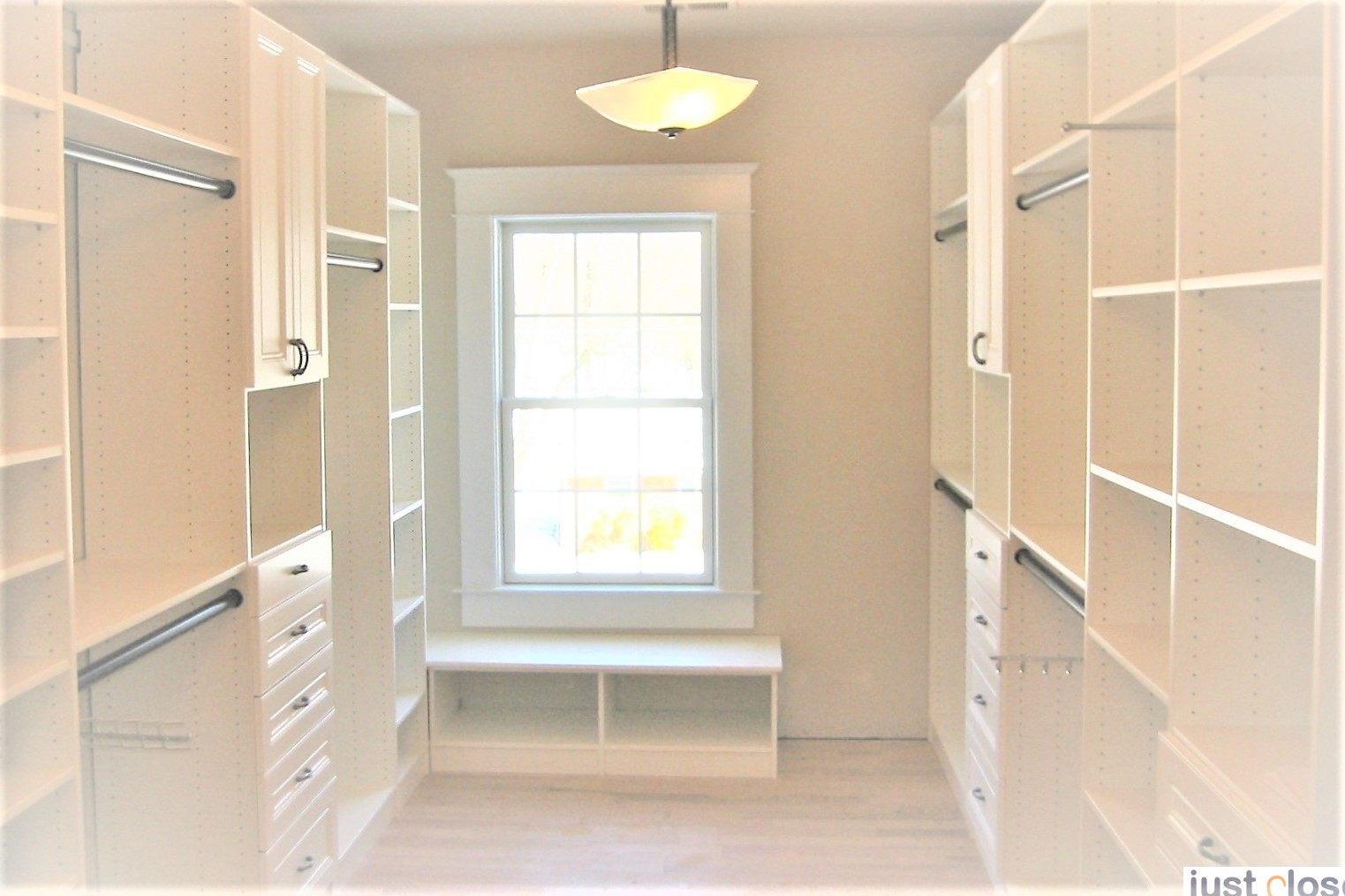 Custom Closet Systems for Walk-in Closets - Just Closets