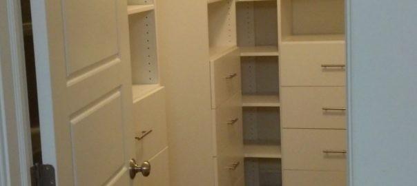 View into Organized Closet