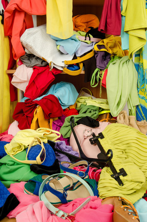 fix a messy closet by getting custom closet system installed