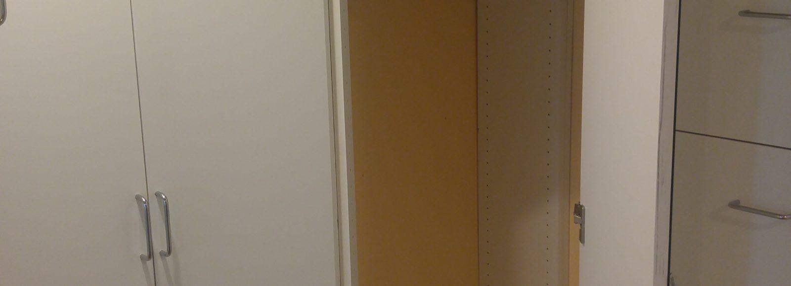 Corner Closet Storage